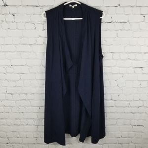 MAURICES | waterfall long laganlook pocket vest